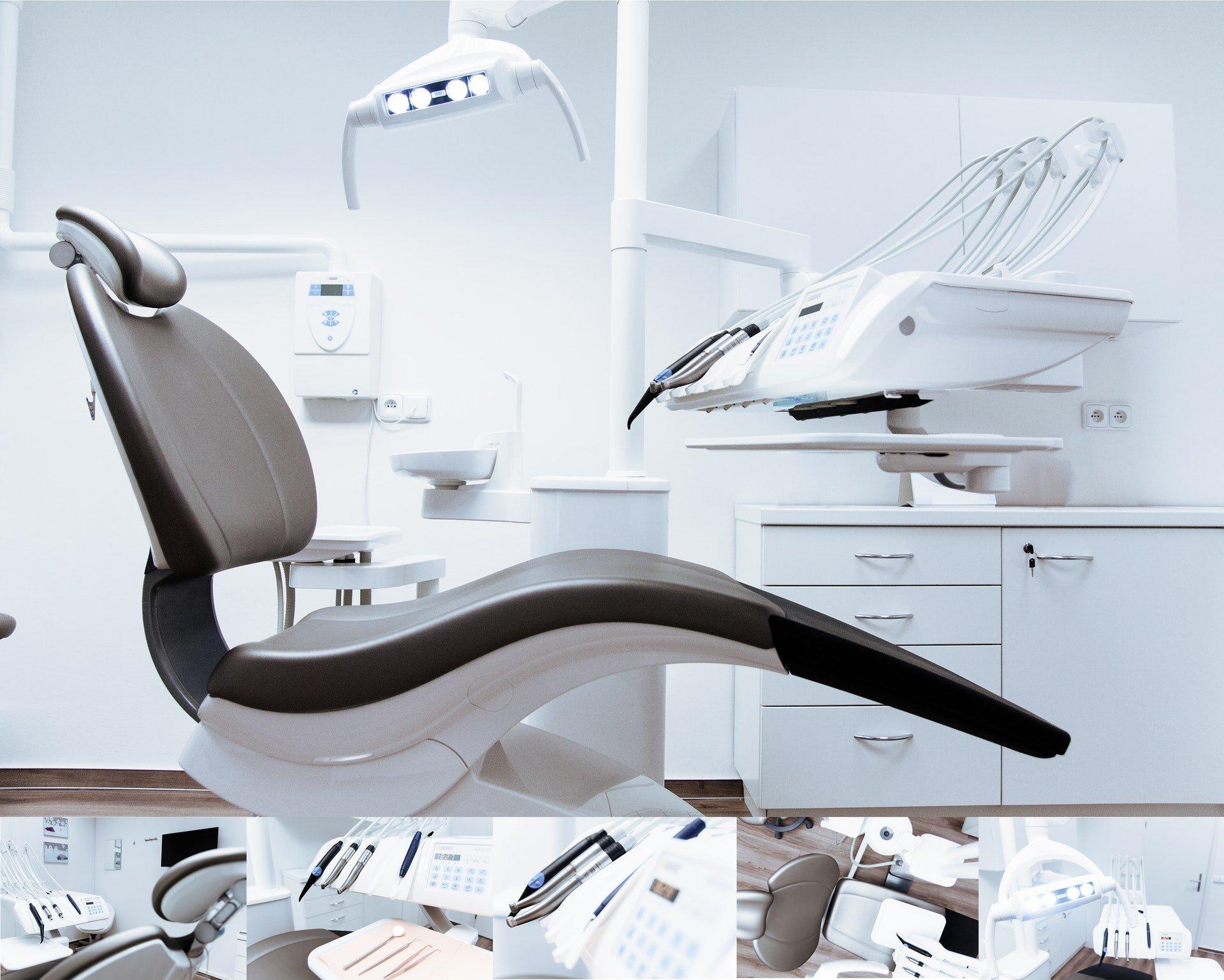 Zahnarztpraxis Collage